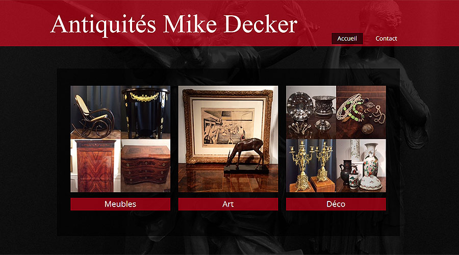 Antiques Website