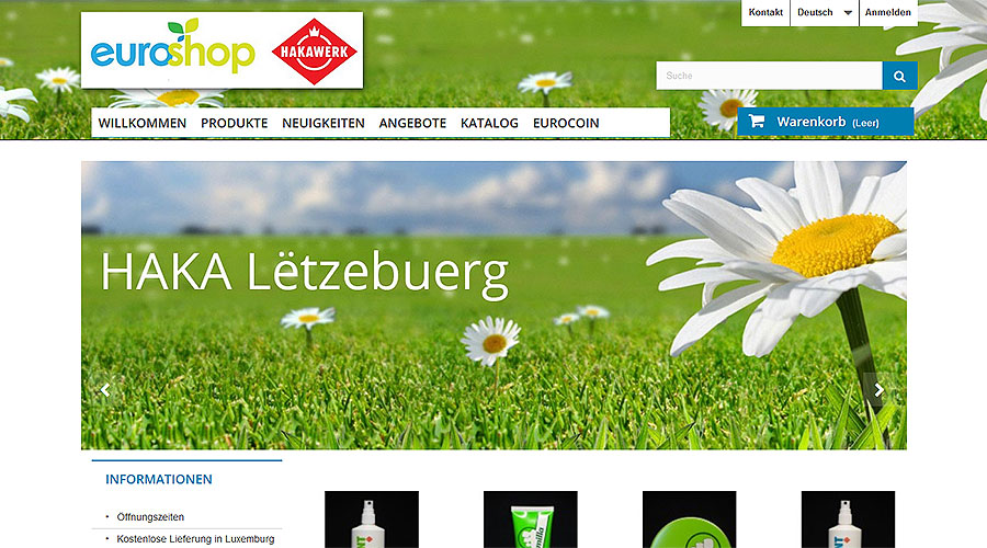 Euroshop Website