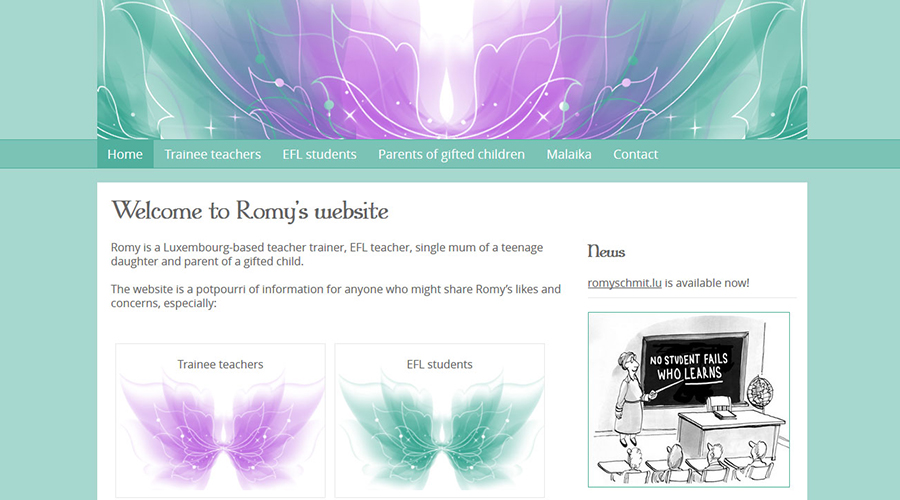 Romy Schmit Website
